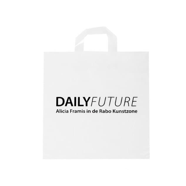 plastic tas Alicia Framis Rabobank